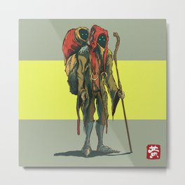 Alien dude Metal Print