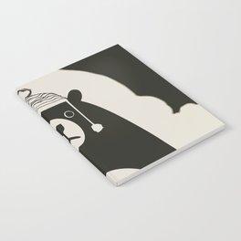 Bear illustration for kids Notebook