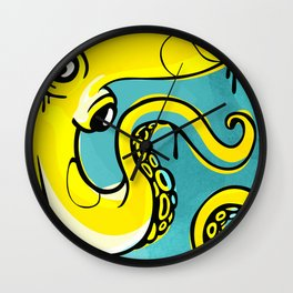 The Octopus Wall Clock