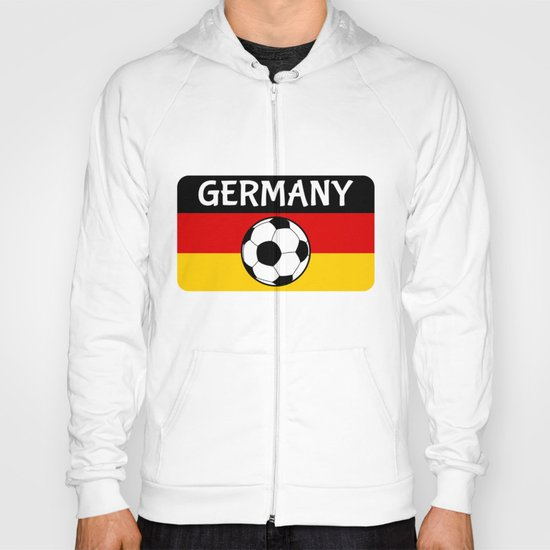 German Flag Football Hoody