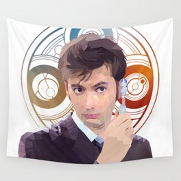 The 10th Doctor Wall Tapestry