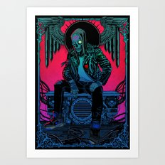 The Ghost of Dead Motor City Art Print