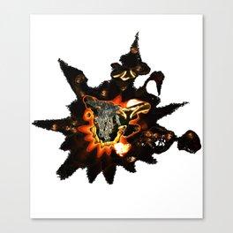 RabbitSunrise - Smashed Lead (T-shirt) 19-08-2010 Canvas Print