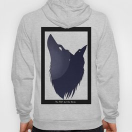 The Wolf and the Raven Hoody
