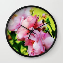 So preciously pink Wall Clock