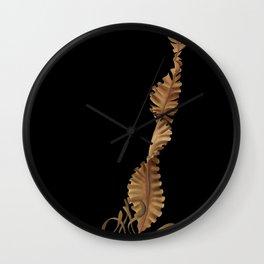 Winged Kelp Wall Clock