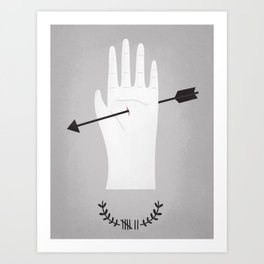 high stake games.  Art Print