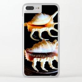 Shell We Dance, Da Da Da... Clear iPhone Case