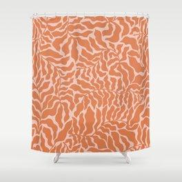 Abundance | Orange & Pink Shower Curtain