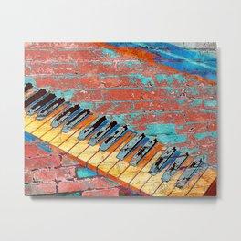 Modern Piano art vs 2 Metal Print