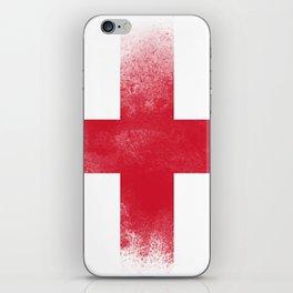 England flag isolated iPhone Skin