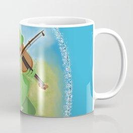 Frog playing violin Coffee Mug