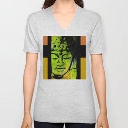 Buddha Love No.53b by Kathy Morton Stanion Unisex V-Neck