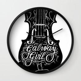 Galway Girl Wall Clock