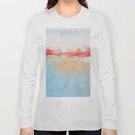 Over Snow Mountain Long Sleeve T-shirt