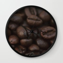Food photography, macro photo, kitchen, still life, chef, cook, cooking, foodporn, home gifts, ideas Wall Clock