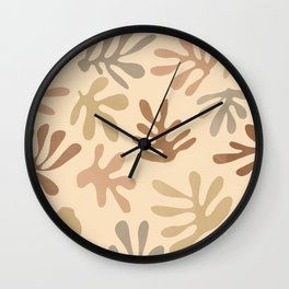 Leaf Abstract (Light) Wall Clock