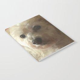 Princess Honey (Reclining Pooch) Notebook