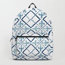Azulejo III - Portuguese hand painted tile Backpack