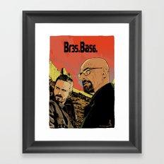 Breaking Bad (Br35Ba56) Framed Art Print