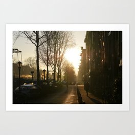 Good Morning! Art Print
