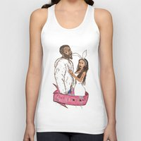 minaj Tank Tops featuring pills and potions. by Late Bloomer