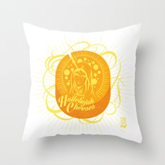 Hallelujah Cheeses Throw Pillow