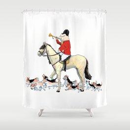 Tally-Ho! Shower Curtain