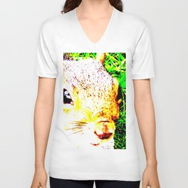 The many faces of Squirrel 1 Unisex V-Neck