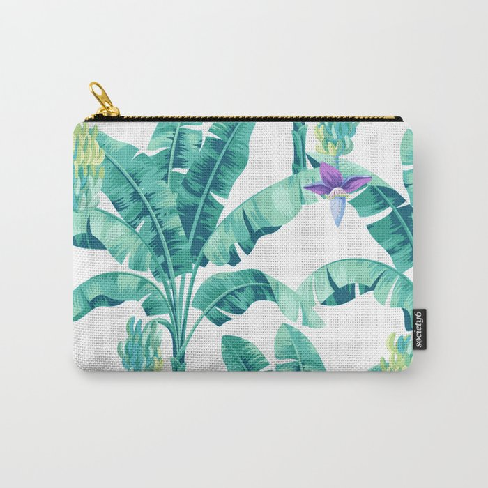 Banana leaf bloom Carry-All Pouch