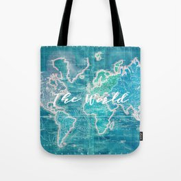 The World Tote Bag