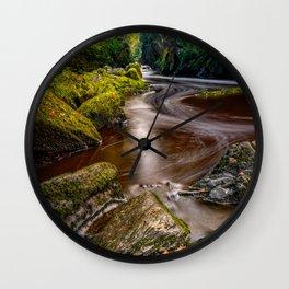 Fairy Glen Gorge Wall Clock