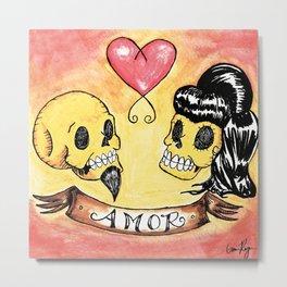 Amor Metal Print