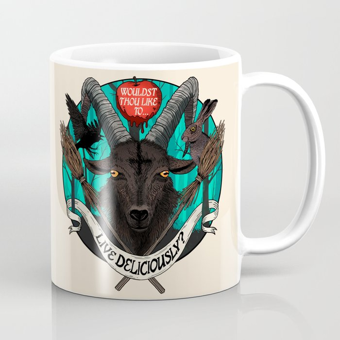 Black Phillip The Witch Coffee Mug By Peterahern Society6