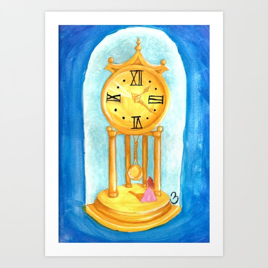Trapped in Time Art Print