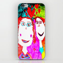 LOVE iN CHiLDHOOD iPhone Skin