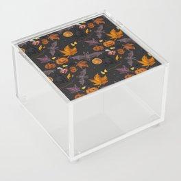 October pattern Acrylic Box