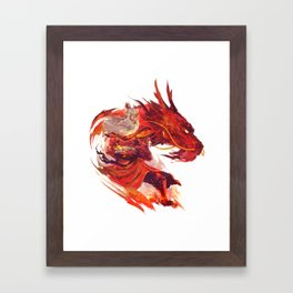 Avatar Roku  Framed Art Print