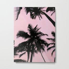 Palms in Palomino in La Guajira, Colombia Metal Print