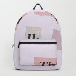 thank you next - Ariana - white Backpack