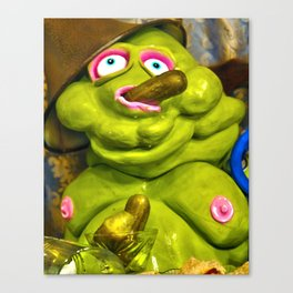 Meet Chester: Pickle Time Canvas Print