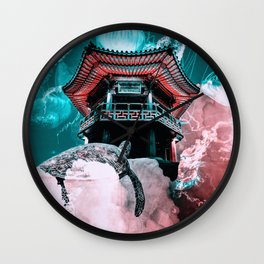 Wisdom Of Patience  Wall Clock