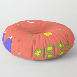South America Dreaming Floor Pillow