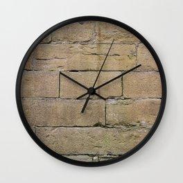 Sandstone wall Wall Clock