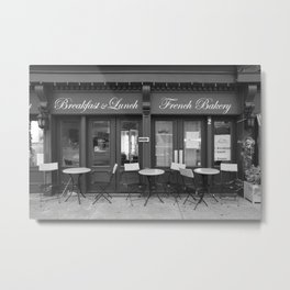 French Bakery Metal Print
