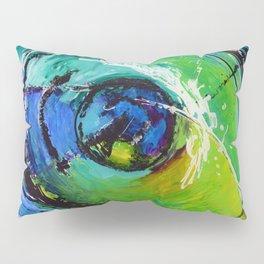 L'œil sur le futur, acrylique / Eye on the futur, Acrylic artwork Pillow Sham