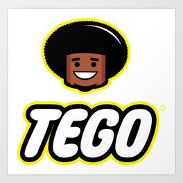 Tego Art Print
