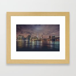 NYC Skyline Framed Art Print