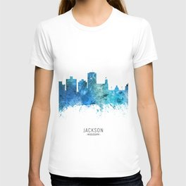 Jackson Mississippi Skyline T-shirt