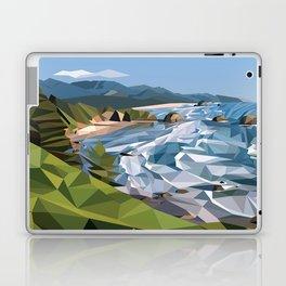 Geometric Cannon Beach Laptop & iPad Skin